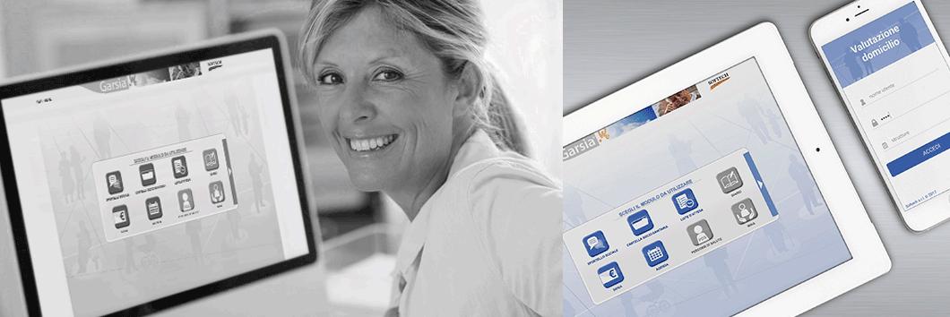 Cartella Socio-Sanitaria di Garsia per web e mobile devices